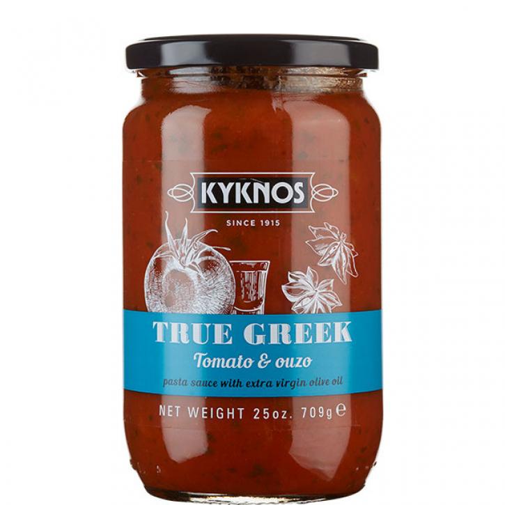 Tomatensauce mit Ouzo (709g) Kyknos