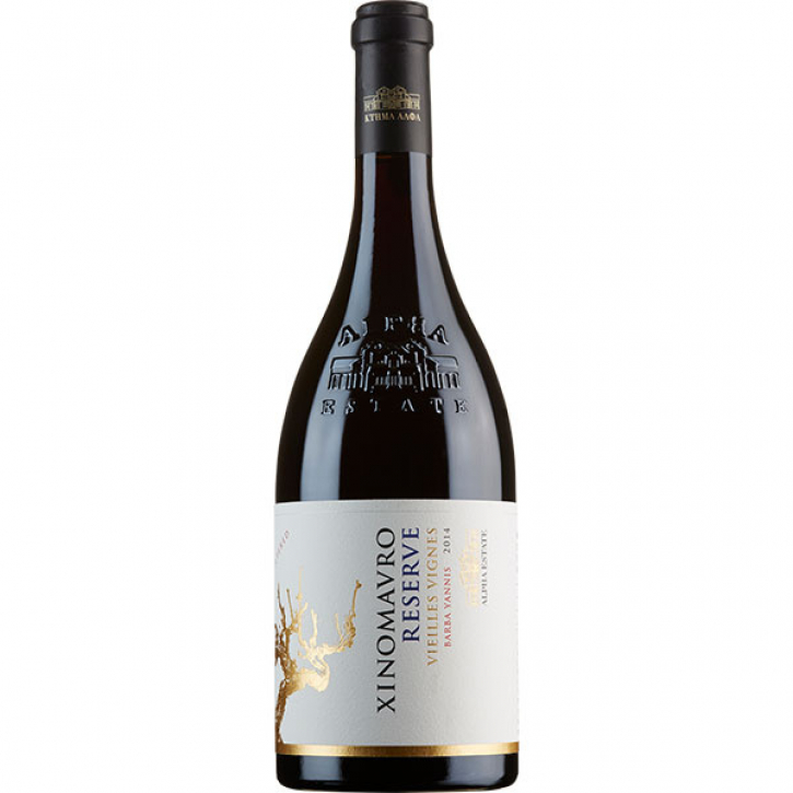 Xinomavro Reserve Rot trocken (750ml) Alpha Estate