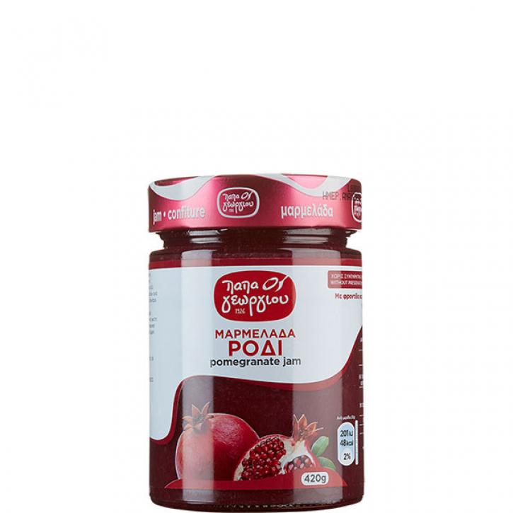 Konfitüre Granatapfel (420g) Papageorgiou