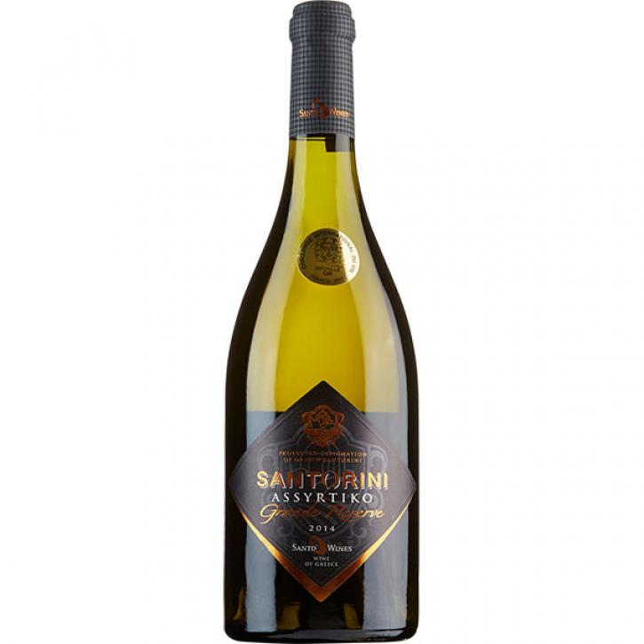 Assyrtiko Grand Reserve weiß trocken (750ml) Santo Wines