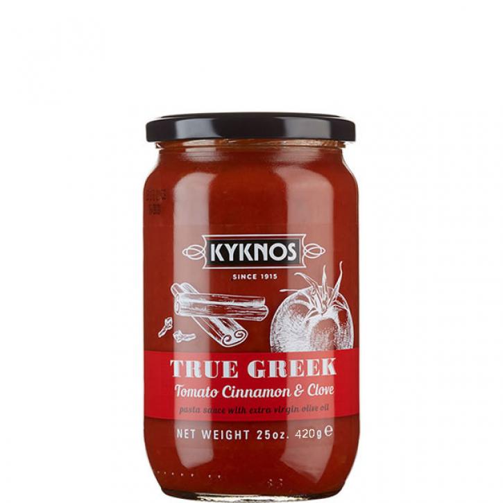 Tomatensauce mit Zimt und Nelke (350g) Kyknos