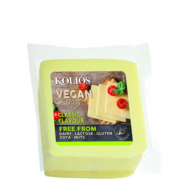 Schnittkäse Fast Vegan gelb Nistisimo (400g) Kolios