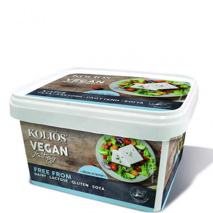 Vegan Käse weiß Nistisimo in Scheiben (600g) Kolios