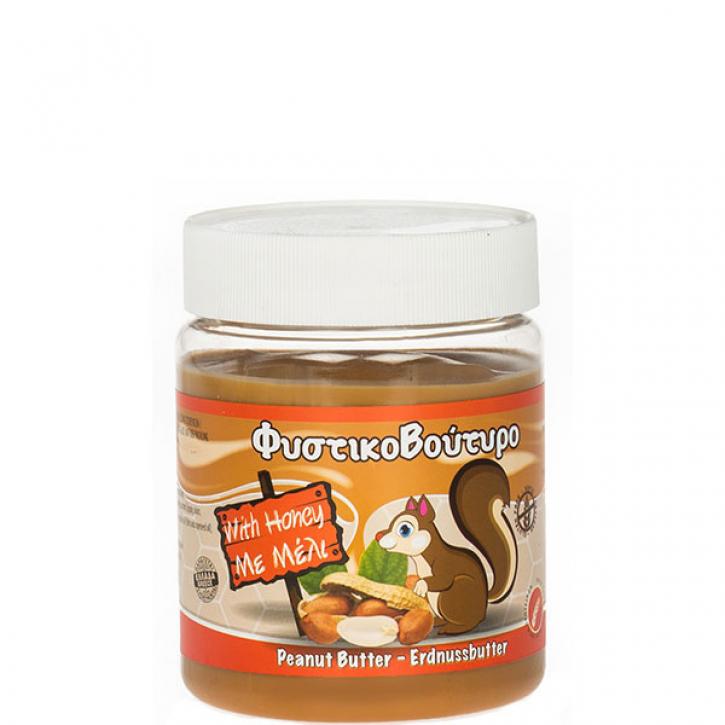 Erdnussbutter mit Honig (350g) Meletiadis
