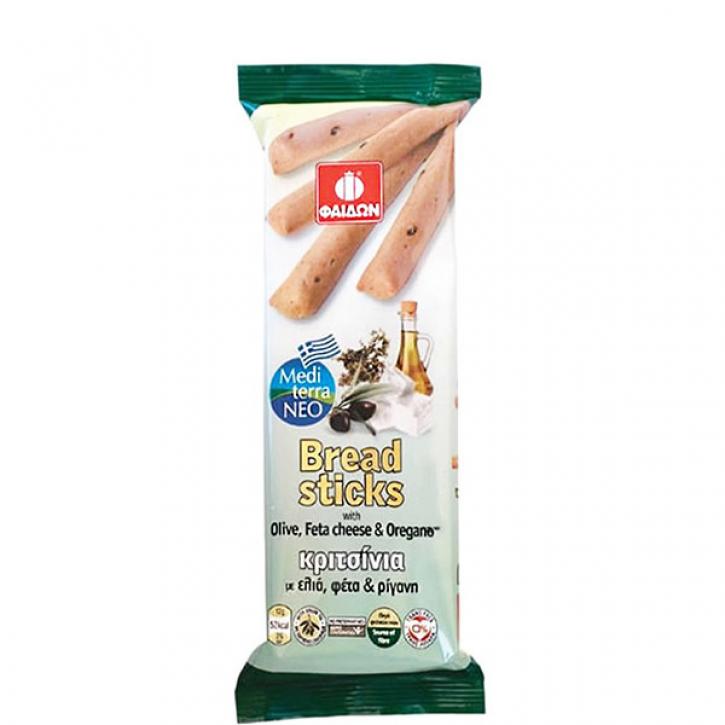 Breadsticks Oliven, Feta & Oregano (125g) Fedon