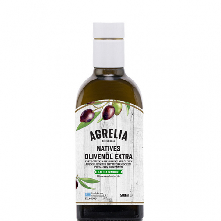 Olivenöl Extra Nativ Agrelia (500ml) Cretan Olive Mill