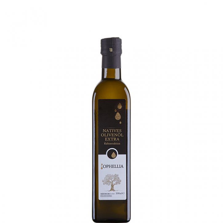 Olivenöl Extra Nativ (500ml) Ophellia