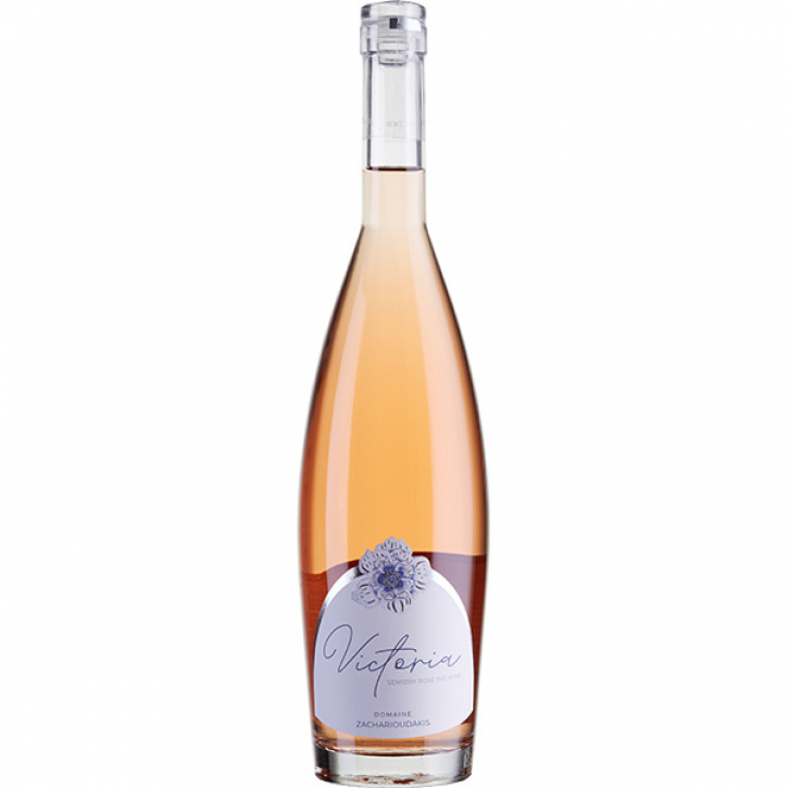 Victoria Rose halbtrocken BIO (750ml) Zacharioudakis