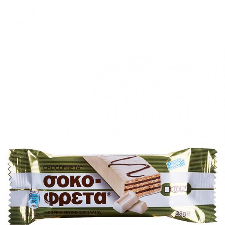 Schokofreta Weiß (38g) ION