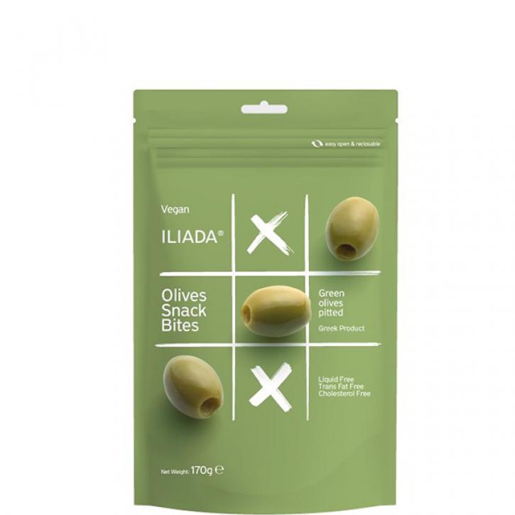 Oliven grün ohne Kerne (170g) Iliada