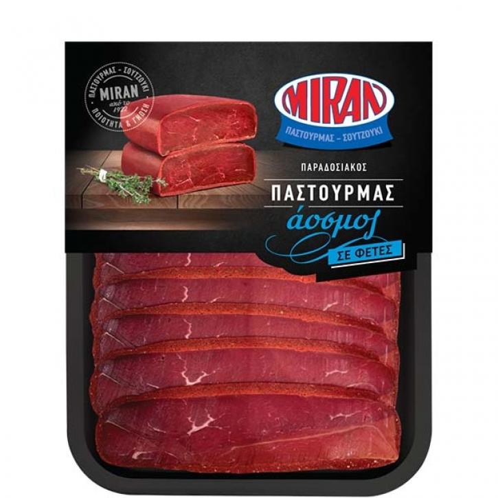 Pastourma vom Rind geschnitten (100g) Miran