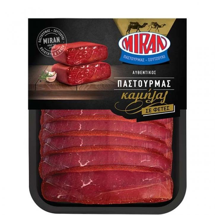 Pastourma vom Kamel geschnitten (100g) Miran