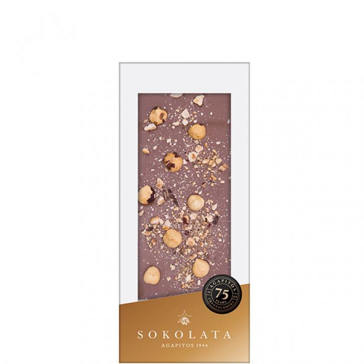 Milchschokolade mit Haselnüssen (100g) Agapitos