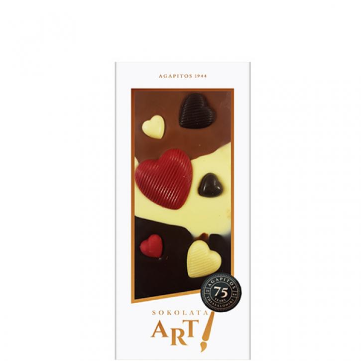 Schokolade LOVE (120g) Agapitos