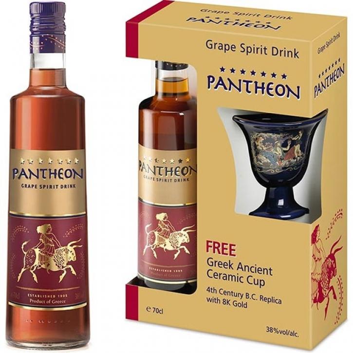 Branntwein Pantheon 7-Sterne Geschenkbox (700ml)