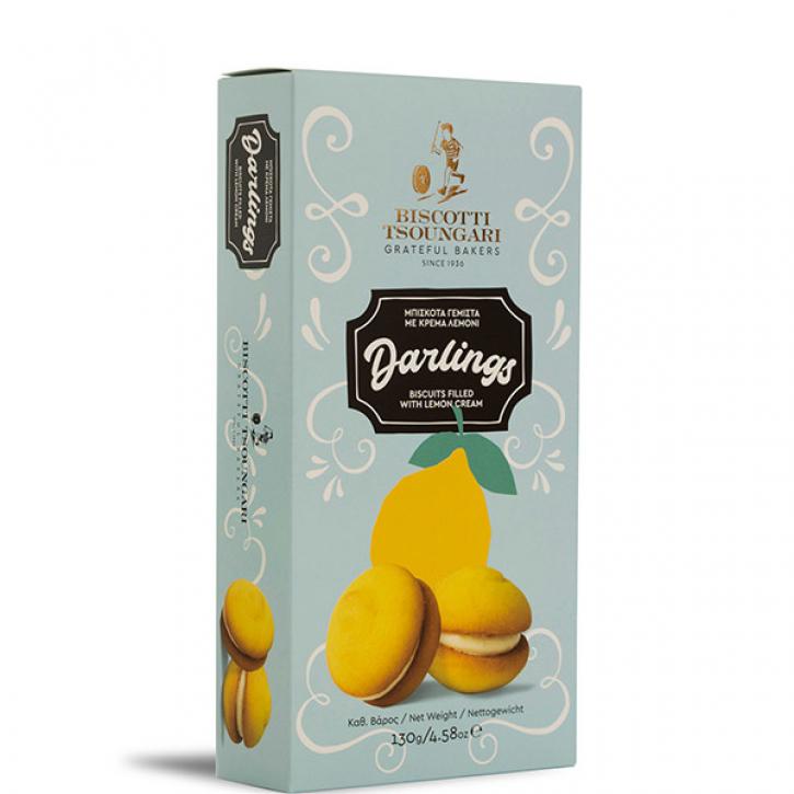 Darlings gefüllt mit Zitronencreme (130g) Biscotti