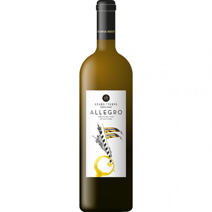 Allegro Weiß trocken (750ml) Grampsas