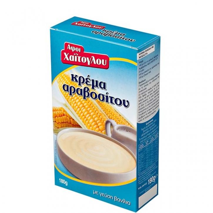Maiscreme Arabositou mit Vanillegeschmack (180g) Haitoglou