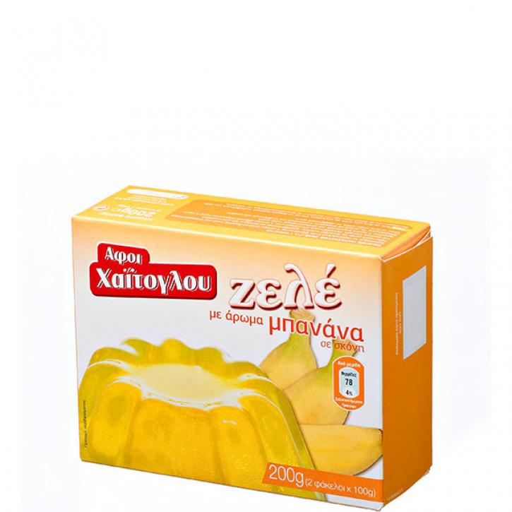 Frucht Gelee Banane (200g) Haitoglou
