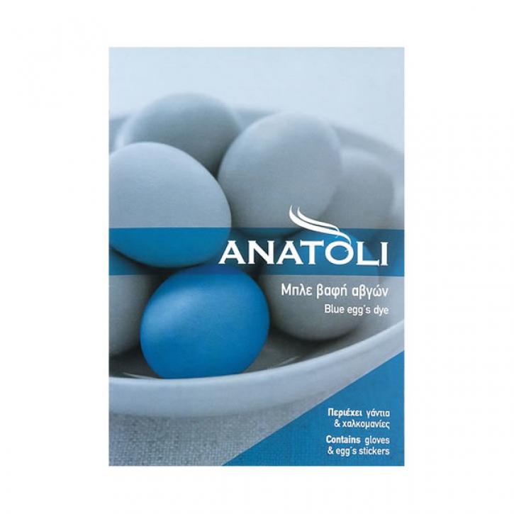 Eierfarbe Blau mit Handschuh (3g) Anatoli