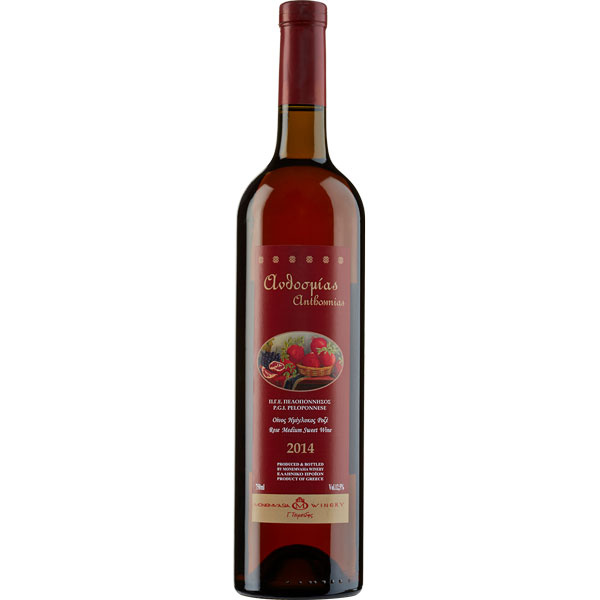 Anthosmias Rose halbsüß (750ml) Monemvasia