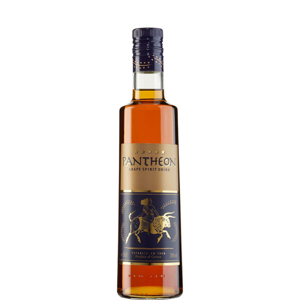 Branntwein mit Honig Pantheon 5 Sterne (500ml)