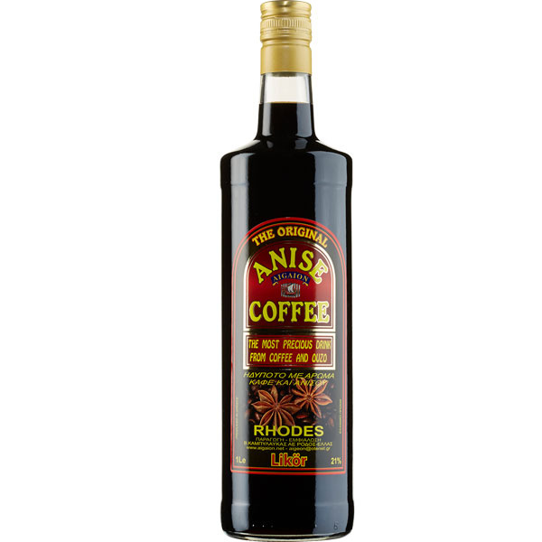 Likör Anis & Coffee (1000ml) Aigaion