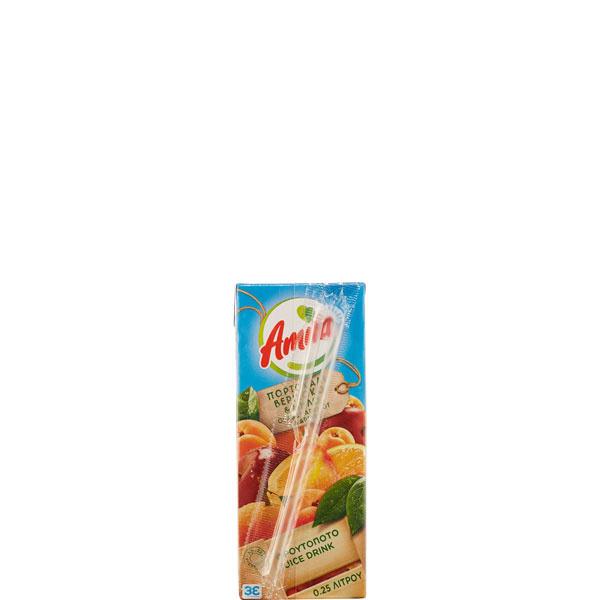 Orangen- Aprikosen- Apfel Fruchtnektar 50% (250ml) Amita