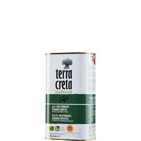 Olivenöl Extra Nativ Kolymvari (1L Kanister) Terra Creta