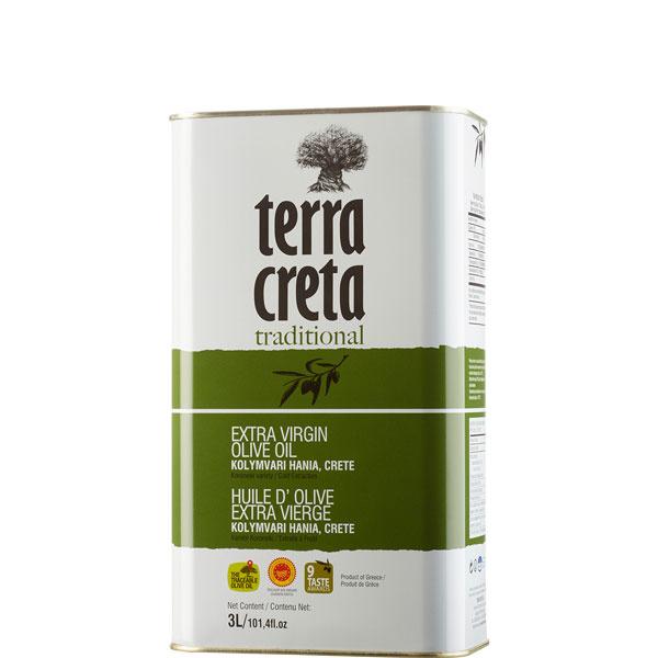 Olivenöl Extra Nativ Kolymvari (3L) Terra Creta