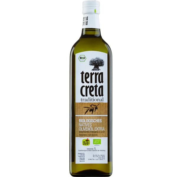 Olivenöl Extra Nativ Kolymvari BIO (1L) Terra Creta