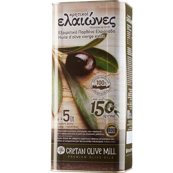 Olivenöl Extra Nativ Kritiki Eleones (5L) Cretan Olive Mill