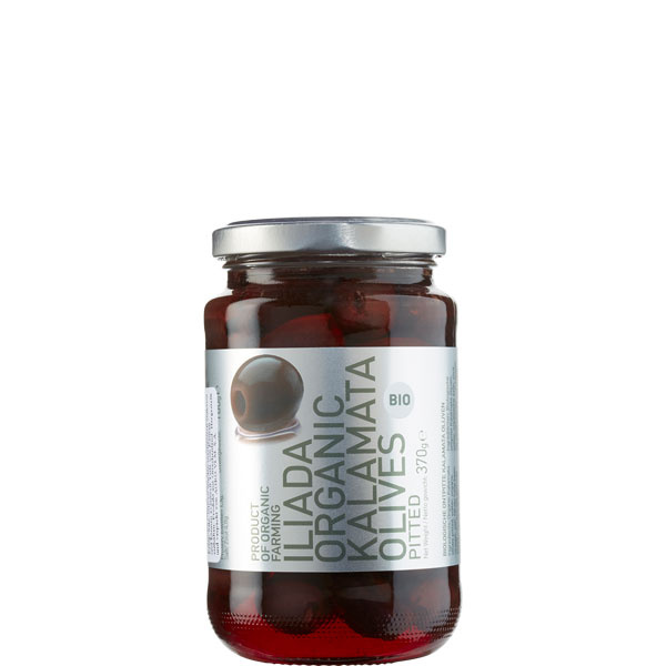 Oliven Kalamata ohne Kern BIO (370g) Agro Vim