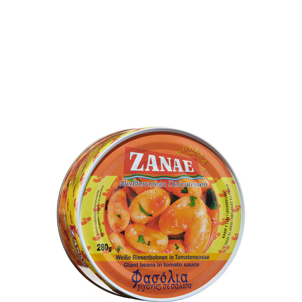 Butterbohnen in Tomatensauce (280g) Zanae
