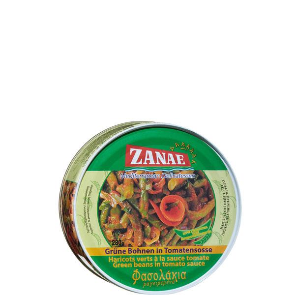 Grüne Bohnen in Tomatensauce Fasolakia (280g) Zanae