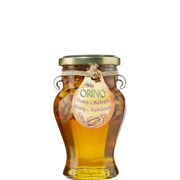 Honig mit Walnüssen (250g) Orino