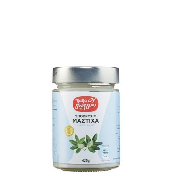 Mastiha Süßspeise (420g Glas) Papageorgiou