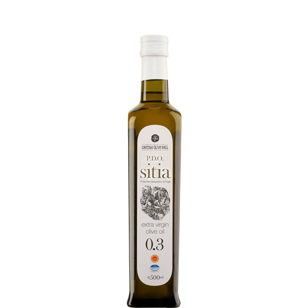 Olivenöl Extra Nativ Sitia 0,3% (500ml) Cretan Olive Mill