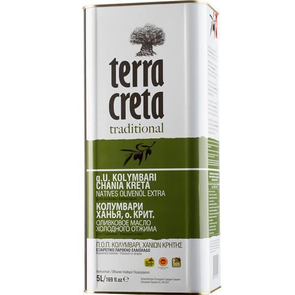 Olivenöl Extra Nativ Kolymvari (5L) Terra Creta