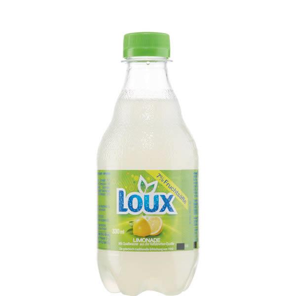 Lemon Fruchtsaftgetränk Lemonada (330ml) Loux