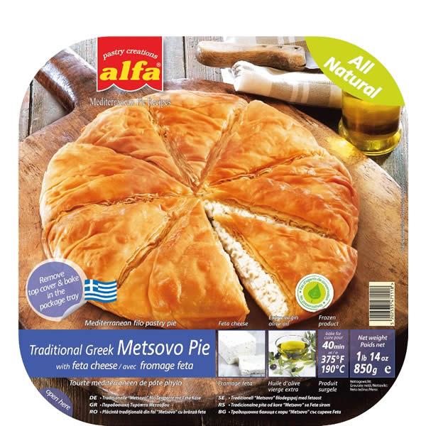 Pita Metsovo gefüllt mit Käse (850g) Alfa