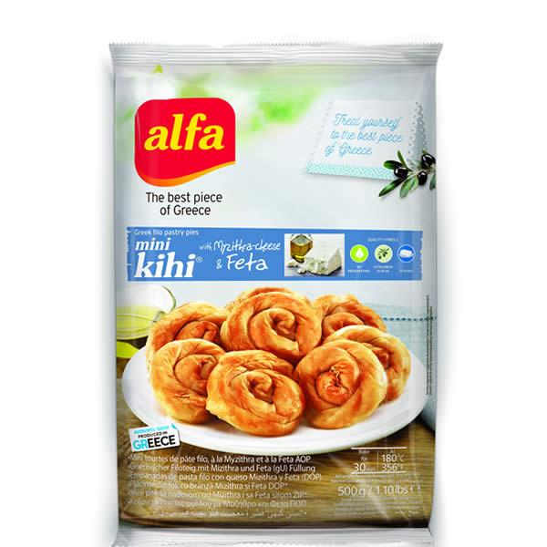 Pita Mini Kihi gefüllt mit Käse (500g) Alfa
