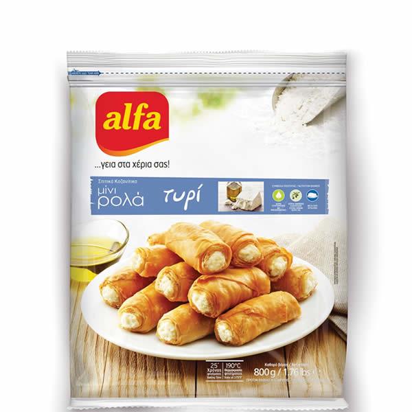Pita Mini Roll gefüllt mit Käse (800g) Alfa