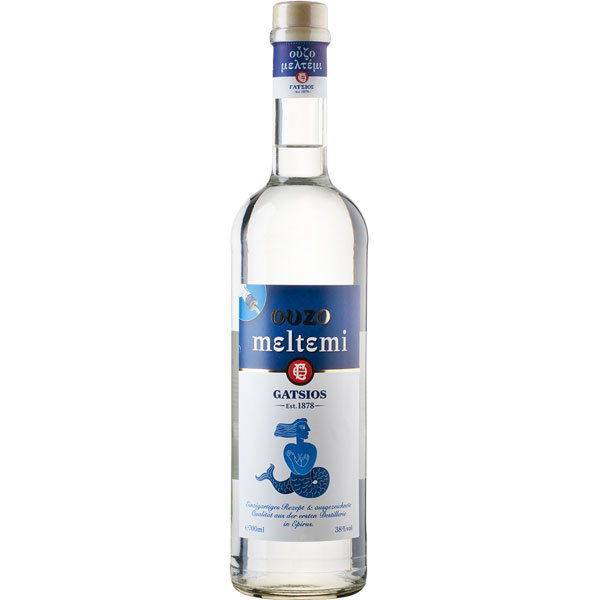 Ouzo Meltemi (700ml/38%) Gatsios