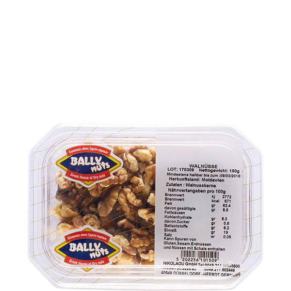 Walnüsse 1/4 geschält (150g) Bally Nuts