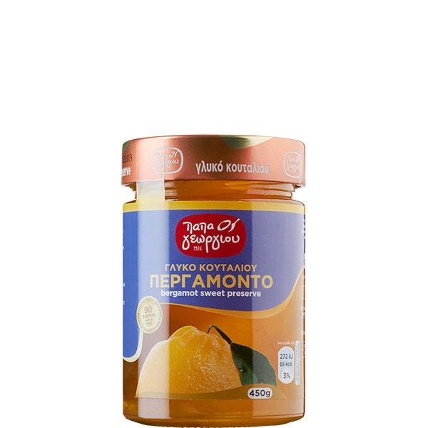 Bergamotten eingelegt in Sirup (450g) Papageorgiou