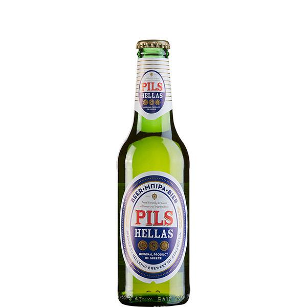 Pils Hellas Bier (330ml) Hellenic Brewery