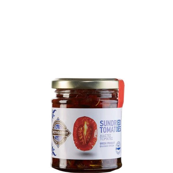 Tomaten getrocknet in Olivenöl (180g) Cretosophy