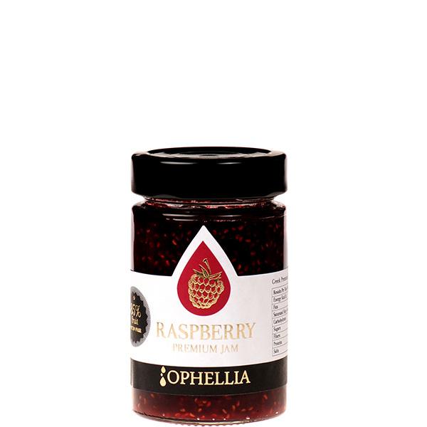 Konfitüre Extra Himbeere 85% (230g) Ophellia