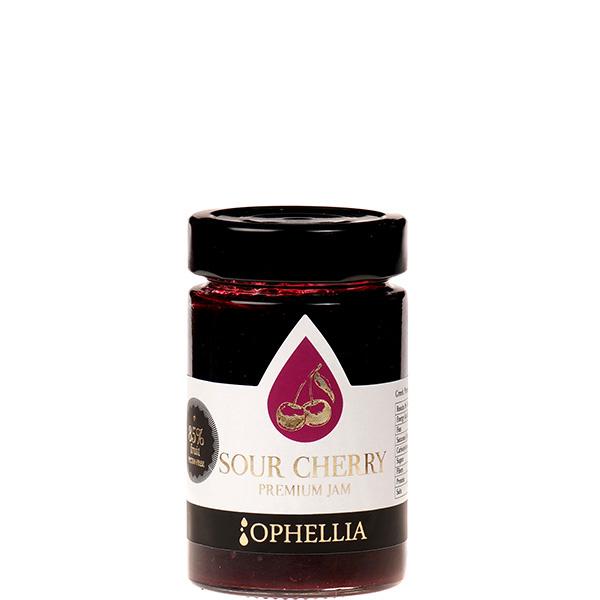 Konfitüre Extra Sauerkirsche 85% (230g) Ophellia